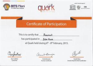 Quark2015_BITS_Roborace