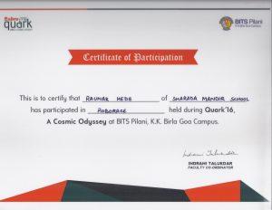 Quark_2016_RoboRace_participation_certificate