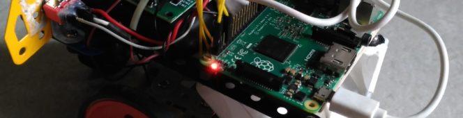Rexplorer v1 – A robot programmed in Scratch GPIO